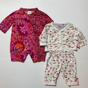 Hanna Andersson & Oilily Outfits 0-3 Months